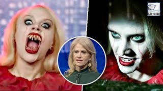 Snl's kate mckinnon plays kellyanne conway as terrifying pennywise | lehren news