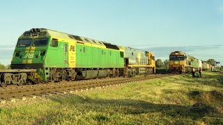 Northern South Australia Rail Action - 24th & 25th August 2002