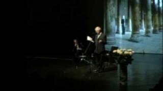 Mourid Barghouti Reading (English)