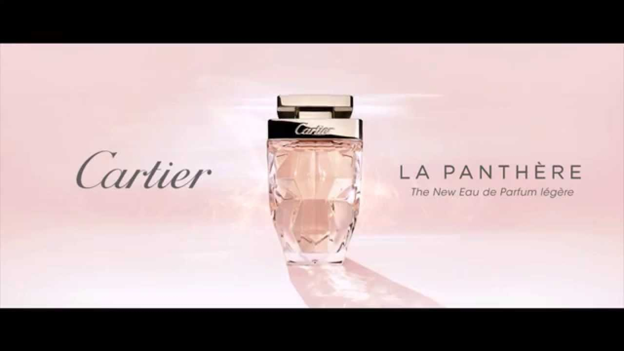 cartier la panth re eau de parfum l g re paris gallery youtube. Black Bedroom Furniture Sets. Home Design Ideas