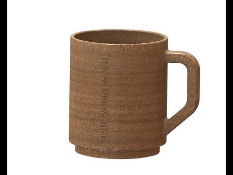 Solidworks Tutorial Mug Wood Material