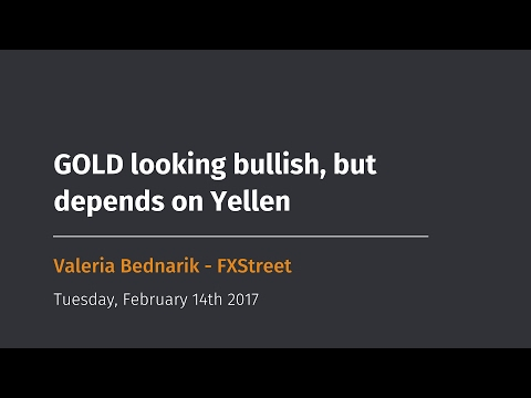 GOLD looking bullish, but depends on Yellen