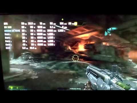 Athlon x4 760k + R9 380 Doom Eternal Game Test 2021  