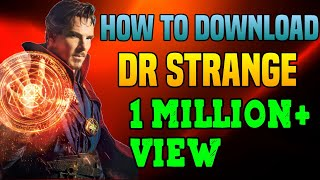 How to download Dr strange movie in hindi