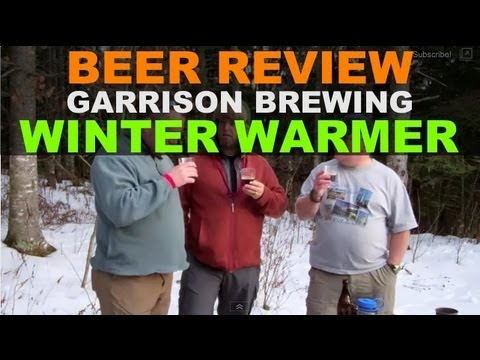 Quick Beer Review - Garrison Brewing Winter Warmer