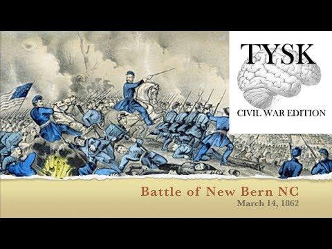 1862-11 Battle Of New Bern NC