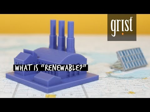 Renewable energy doesn't always mean what you think