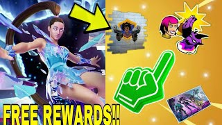 *NEW* How To Get (ALL FREE FNCS REWARDS) In FORTNITE CHAPTER 2 SEASON 7