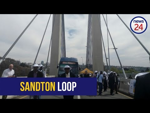 WATCH: R600m Sandton transport project launched
