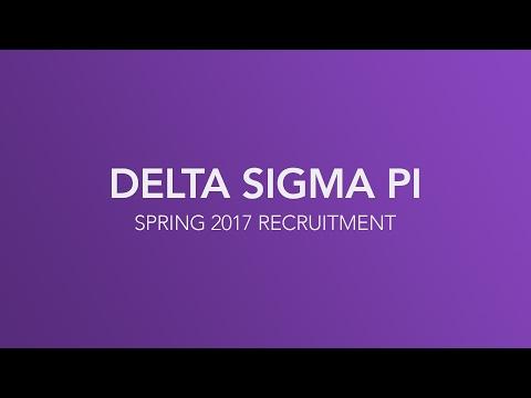 Delta Sigma Pi - Miami University - Recruitment Video - Spring 2017