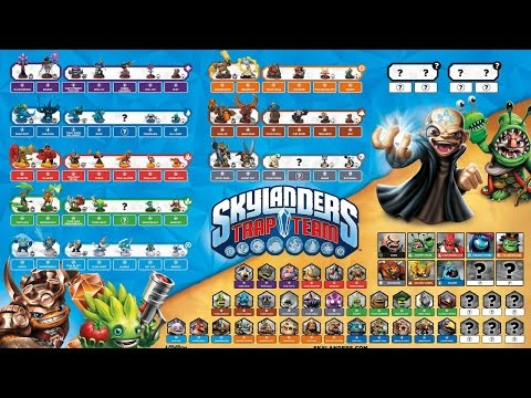 Learn the Names of Every New Skylanders Trap Team Character ...
