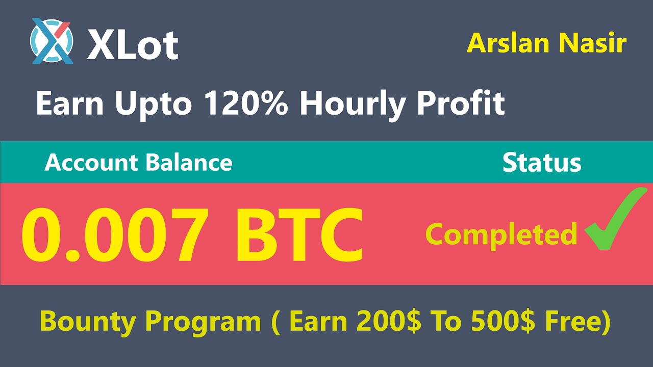 XLot.co - Earn Up to 120 % Hourly Profit | Earn Daily $50 Live ...
