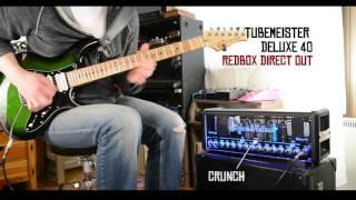 Hughes & Kettner Deluxe 40 Tubemeister Demo by Mr. Fastfinger Mika Tyyskä
