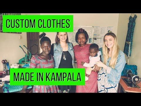 Let's get some clothes made in Kampala, Uganda. #tailoring #fashion #ankara #kitenge #clothing