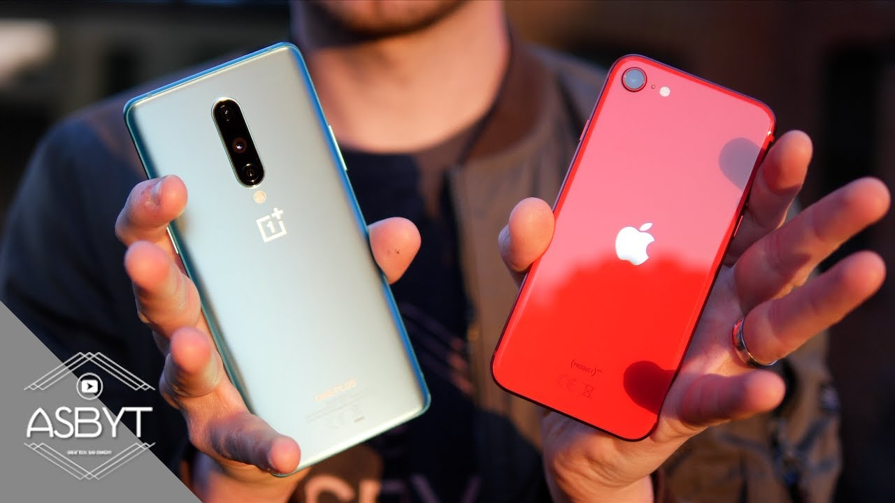 iPhone SE vs OnePlus 8 Review | The REAL Flagship Killer 2020?