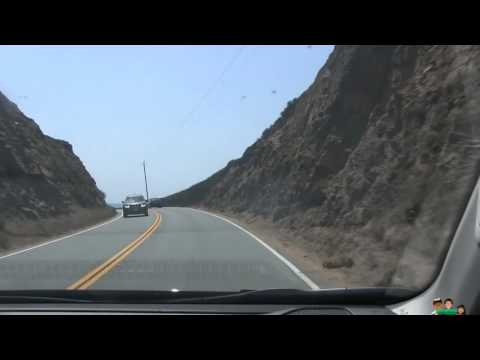 Driving From Carmel To Big Sur Southbound Highway 1