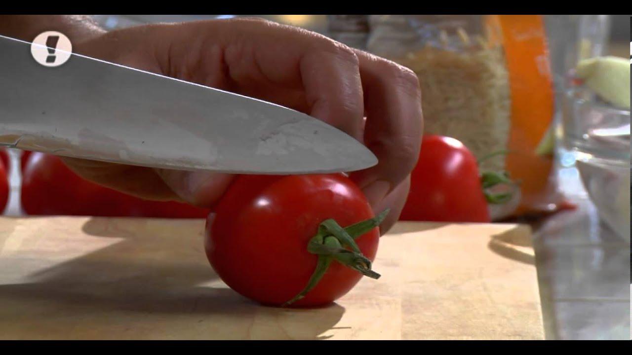 מתכוני סוגת: עגבניות ממולאות בפתיתים