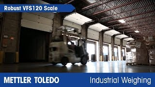 The VFS120 Forklift Scale: Weighing and Transport in a Single Step - METTLER TOLEDO - en