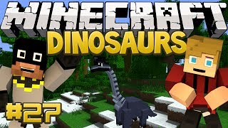 Minecraft Dinosaurs Mod (Fossils and Archaeology) Series, Episode 27 - Spinosaurus Pets!