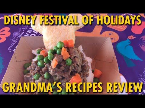 Grandma's Recipes Marketplace Review at Disney Festival of Holidays | Disneyland