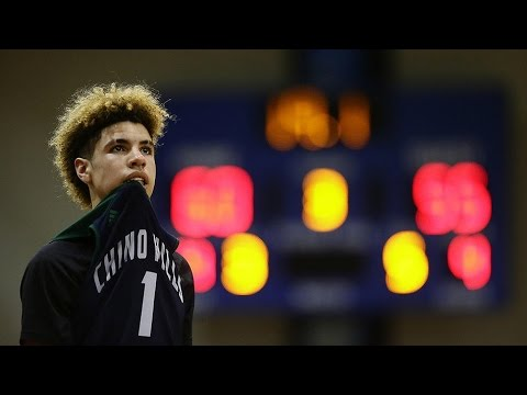 Chino Hills vs  Bishop Montgomery @ El Camino College Liangelo Ball's Final High School Game!!!
