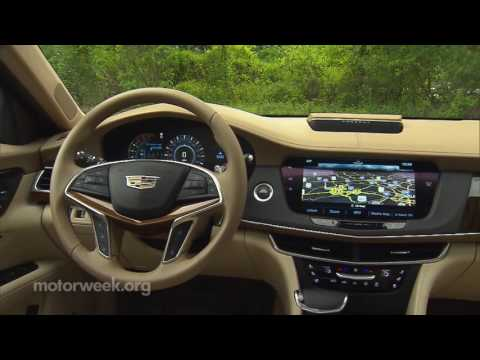MotorWeek | Road Test: 2016 Cadillac CT6