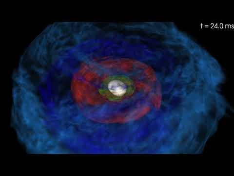Онлайн: Астрофизики увидели «фабрику золота» за работой