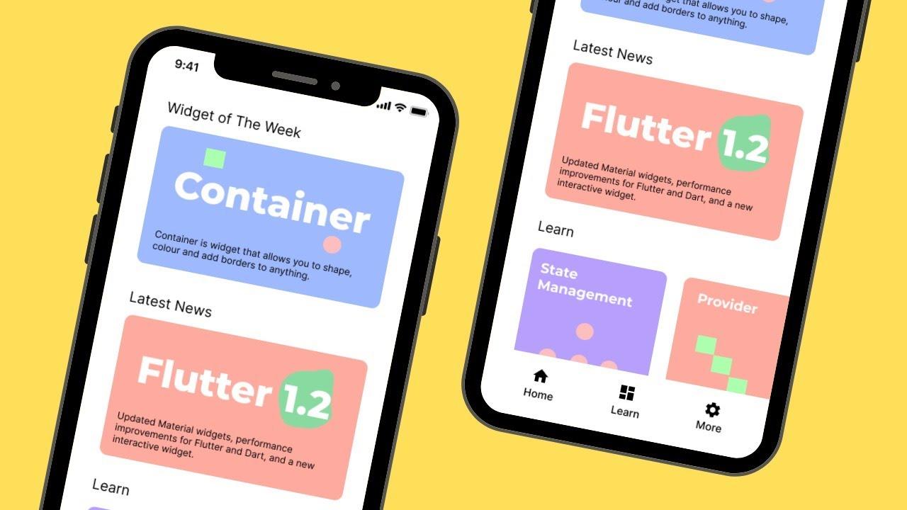 Creating Learn Flutter App