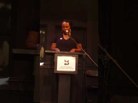 Dana Johnson at Writers Resist LA at Beyond Baroque 1.14.17