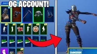 Fortnite SEASON 1 account with Mako, OG Skins and more!