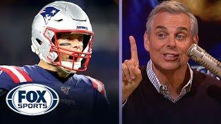 Colin Cowherd: Tom Brady on TNF was a 'vintage performance' — FS1 crew reacts | FOX SPORTS