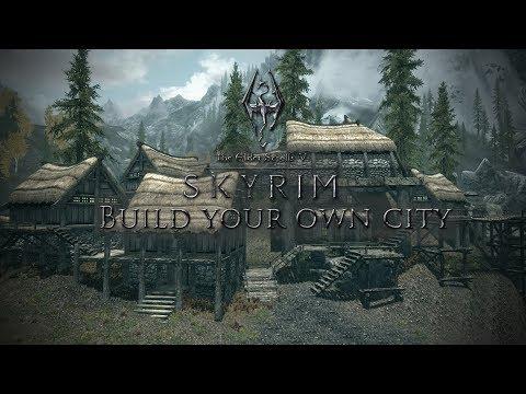 BUILDING MY OWN CITY!! | Skyrim Modded Livestream #7 [Season 1]