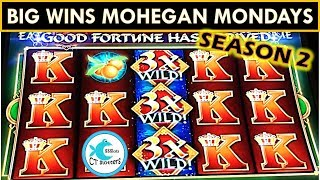 THE RETURN OF MOHEGAN SUN MONDAYS! SEASON 2! BIG WINS FU DAO LE SLOT MACHINE, TREE OF WEALTH