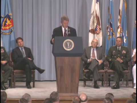 Pres. Clinton at Homosexuals in Military Policy Announcement [DADT] (1993)