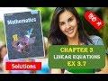 RD SHARMA Solutions Class 10 Maths Chapter 3 Linear Equations Ex 3.7 हिंदी 2