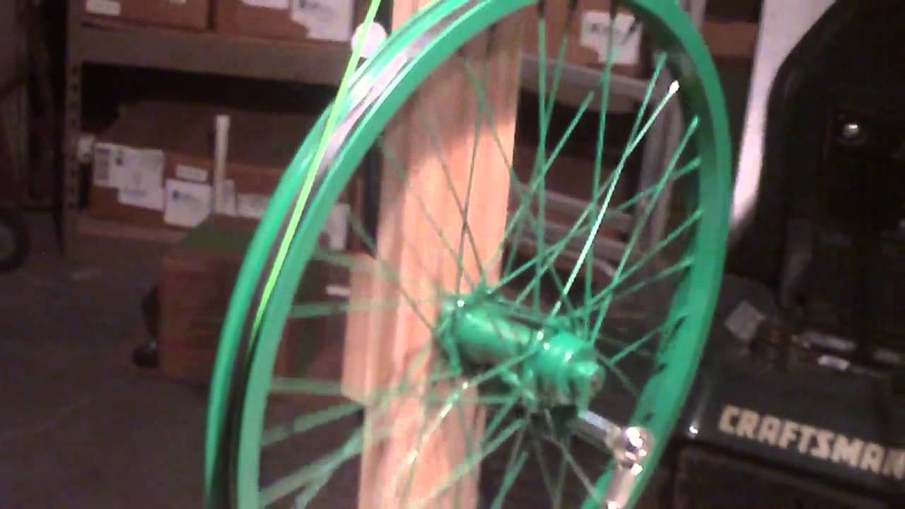 Homemade Dodec Spinning Wheel Youtube