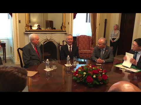 B-Roll Video: Hatch Meets with Chinese Vice Premier Liu He