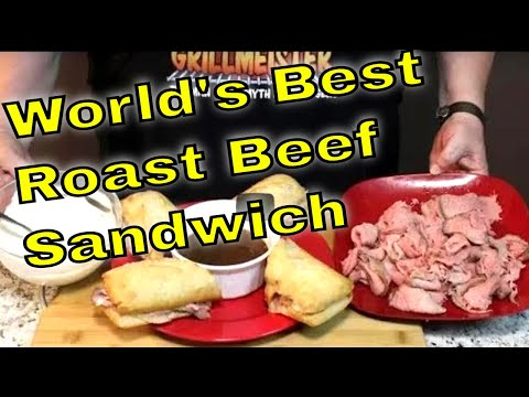 Easy way to make roast beef sandwiches with au jus
