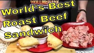 Video World's Best Roast Beef Sandwich!  (Updated: See Notes Below!) download MP3, 3GP, MP4, WEBM, AVI, FLV Oktober 2018