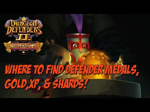 DD2 - Where to Farm Defender Medals, Gold & XP!