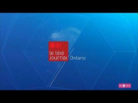 Radio-Canada - Générique Téléjournal Ontario - 2018 (HD)