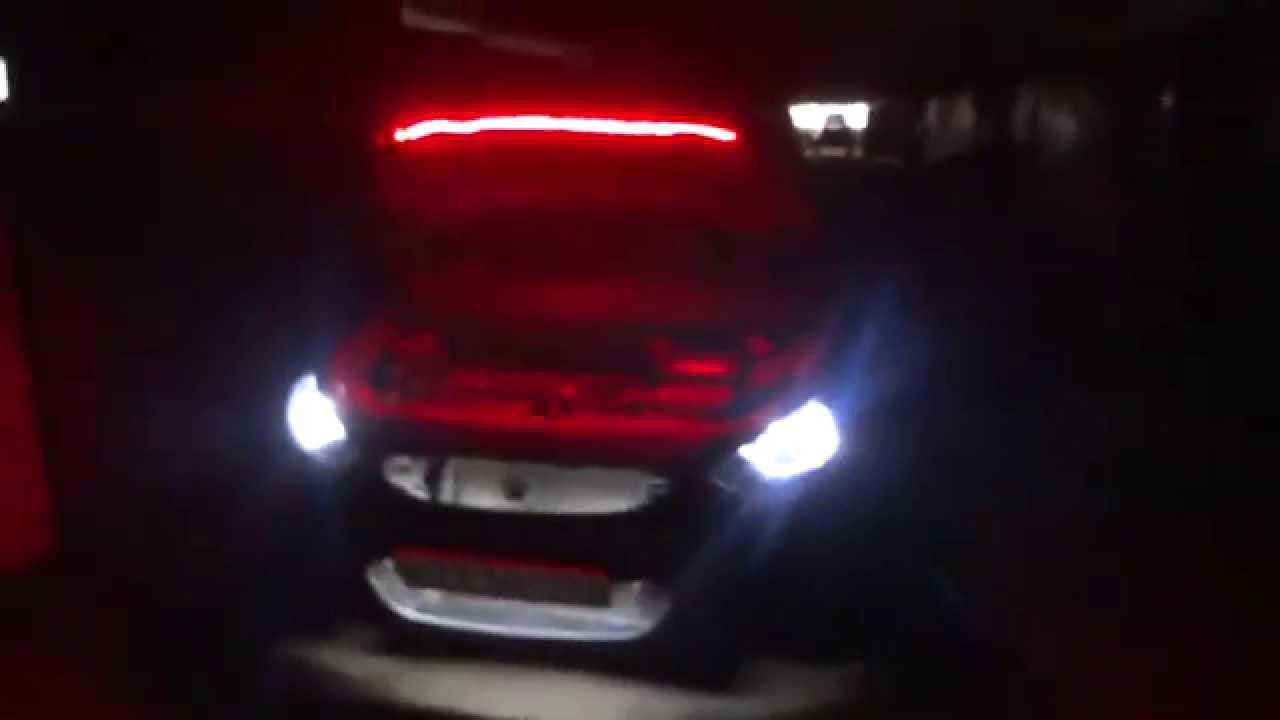 Подсветка на солярис своими руками