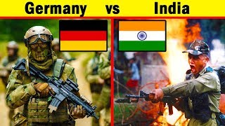 India vs Germany Military Comparison (2018)