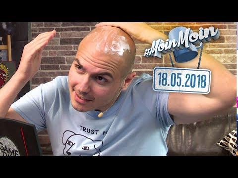 Hasselhoff in Hamburg, Haarkur-Test | MoinMoin mit Gregor