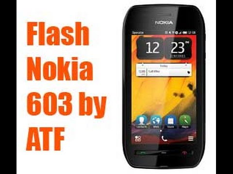How to Flash Nokia 603 with ATF Box