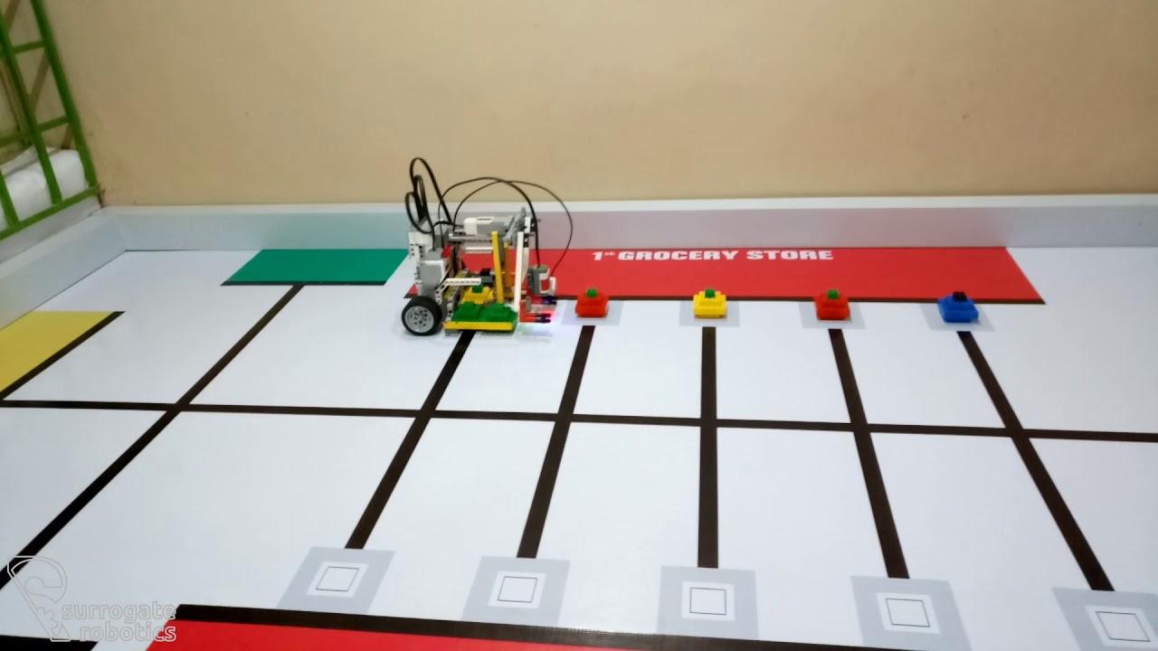 WRO 2018 Elementary - Surrogate Robotics