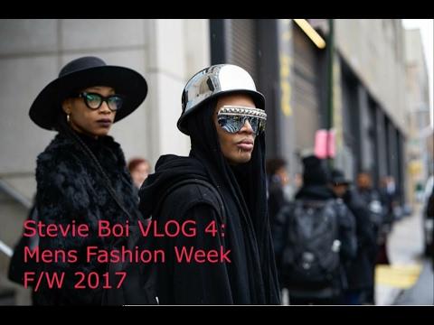 Stevie Boi VLOG 4: Mens Fashion Week F/W 2017
