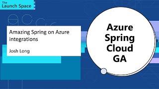 Amazing Spring on Azure integrations: Josh Long