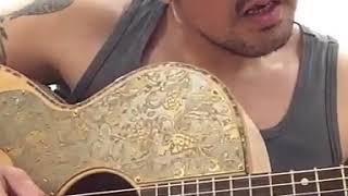 """NAIF - Penjiwaan David memainkan sepenggal lagu """"Nyali"""".."""