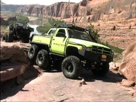 dodge  rex     picnic  moab rim youtube